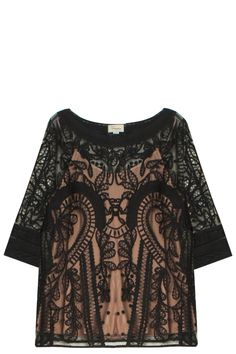 Bertie Top by TEMPERLEY LONDON