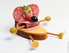 Oliva, la ratita de queso y salami