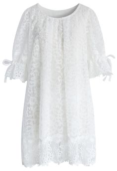 Adore Lace Embroidered Dolly Dress - Dress - Retro, Indie and Unique Fashion