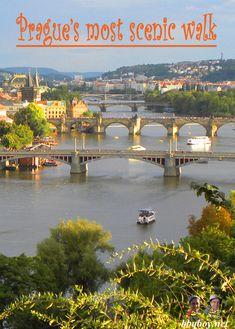 Prague's most scenic walk, a 'must-do': http://bbqboy.net/photo-essay-pragues-scenic-walk/ #prague #czechrepublic
