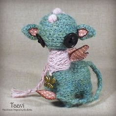 Taavi - Original Handmade Little Dragon/Collectable/Gift/Charm
