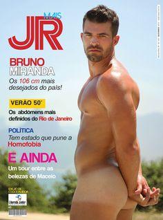 Mais Jr Magazine - issue 3 - cover. Bruno Miranda by Binho Dutra.