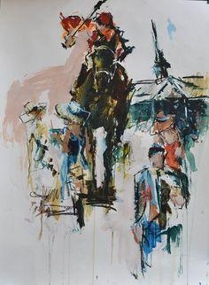 Love race horses