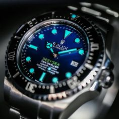 """Rolex Deepsea Sea-Dweller D-Blue  foto @vip_watch_brasil… - gold watch, mens dive watches, men designer watches *sponsored https://www.pinterest.com/watches_watch/ https://www.pinterest.com/explore/watch/ https://www.pinterest.com/watches_watch/diamond-watches/ http://www.ashford.com/us/watches/mens/cat5001.cid"