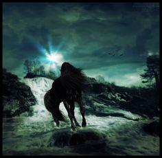 Blue Falls by hp-fallenangel.deviantart.com on @deviantART - PLEASE KEEP DESCRIPTION
