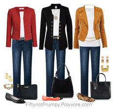 business mode damen Fifty, not Frumpy: Wear It Wednesday - Accessories Fashion Mode, Fashion Over 50, Look Fashion, Autumn Fashion, Fashion Trends, Fashion Ideas, Mode Outfits, Fall Outfits, Casual Outfits
