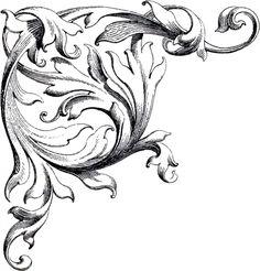 Free Wedding Clip Art Scrolls - The Graphics Fairy
