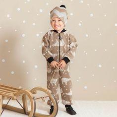 ARCTIC baby villahaalari, ruskea | NOSH & KIVAT villavaatemallisto tarjoaa villavaatteita  ja asusteita syksyyn ja talveen! Pipoja myös aikuisille. Tutustu mallistoon ja tilaa NOSH vaatekutsuilta, edustajalta tai verkosta http://nosh.fi/category/950/ | (This collection is available only in Finland )