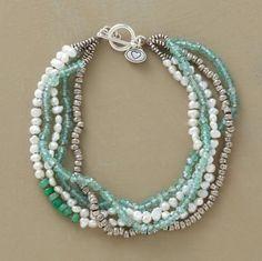 multi strand bracelet #diy #crafts