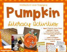 Pumpkin Activities f