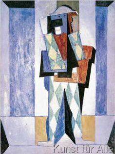 Pablo Picasso - Arlequin, 1917
