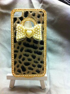 Bling Cell Phone Case Custom Iphone 4/4s by SheDazzled on Etsy, $20.00