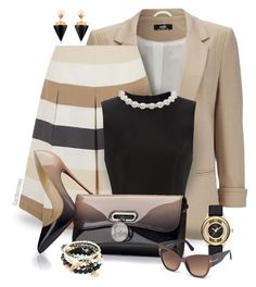 """Cappuccino"" by gardenrosesgraphics ❤ liked on Polyvore featuring Wallis, Weekend Max Mara, Simone Rocha, Christian Louboutin, Marc by Marc Jacobs, Tom Ford, Vita Fede and Good Charma"