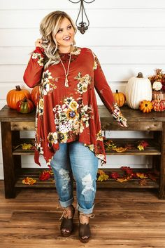 Trying to find boutique curvy clothes? Check out our trendy boutique plus-size clothing for women and you're sure to find something you love! Fall Fashion Outfits, Curvy Outfits, Fall Winter Outfits, Plus Size Outfits, Autumn Fashion, Plus Size Fall Fashion, Curvy Fashion, Modest Fashion, Plus Fashion