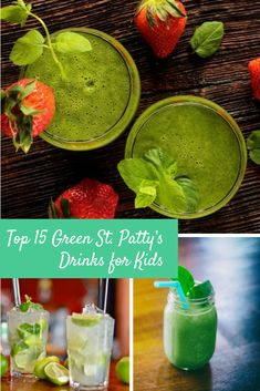 Patty day is just around the corner. In the past I haven't really did much with my kids in honor of this day. But this year I decided I wanted to make it special. So I began searching the… Fun Drinks, Yummy Drinks, Smoothie Recipes, Smoothies, St Pattys, Palak Paneer, Woman, Eat, Giveaways