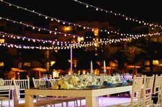 wedding-reception-ideas-lights-romantic-outdoors dinner-dreams riviera cancun - DRC