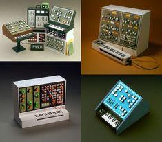 Αναλογικά synthesizers από χαρτί
