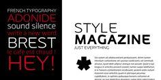 Adonide - Webfont & Desktop font « MyFonts