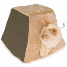 K Thermo-Kitty Cabin, Sage Cat Furniture Bed Images, Cabin Furniture, Cat Treats, Pet Beds, Cat Toys, Your Pet, Funny Cats, Pet Supplies, Kitty