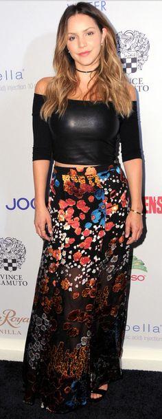 Katherine Mcphee wearing
