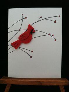 Handmade hand drawn Valentine Card by ALoveofCrafts on Etsy, $2.99