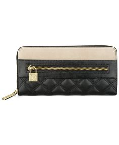 Cheap bday gift for self?  Anne Klein Shimmer Down Zip Around Wallet - Wallets & Wristlets - Handbags & Accessories - Macy's