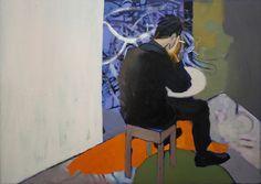 "Saatchi Online Artist Pawel Kwiatkowski; Painting, ""Protagonist IX"" #art"