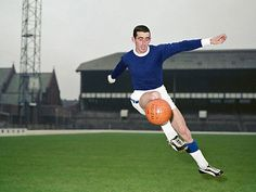 Roy Vernon of Everton in Everton Fc, Vernon, Football Players, Baseball Field, Running, 1960s, Sports, Ebay, Hs Sports