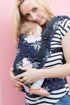 Tula Free-to-Grow Baby Carrier - Blossom | Pupsik Singapore