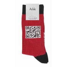 QR Code per il rosso calzino di Natale - - QR Code for the red sock  - - CODE QR CHAUSSETTE 3