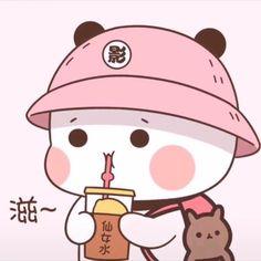 Cute Bunny Cartoon, Cute Couple Cartoon, Cute Kawaii Animals, Cute Cartoon Drawings, Cute Love Cartoons, Cute Love Gif, Cute Cat Gif, Cute Characters, Cute Anime Character