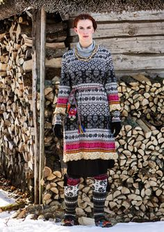 """""""Sirja"""" cotton tunic – Inspired by Muhu – GUDRUN SJÖDÉN – Webshop, mail order and boutiques   Colourful clothes and home textiles in natural..."""