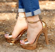 damnit, forever21, make these available again, for the love of rose gold platform heels...
