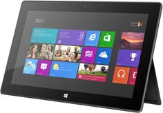 tablette Surface avec Windows RT prix promo Microsoft Store 489,00 € TTC