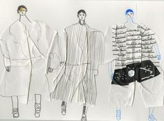 Showstudio Illustrates the Men's Collections SS15