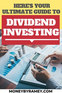 So you have some capital of available and you are looking to begin investing on your own. Which strategy would strategy to choose out of the myriad of available investment strategies? I personally believe that a dividend investing strategy is one of the best approaches that an investor can choose. Click the photo to find out. more about your Ultimate Guide to Dividend Investing. #ideas #investing #money #moneymanagement #stocks #dividend #strategy #investment #finance #financialfreedom