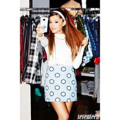 Ariana Grande's Unfiltered Life Lessons ❤ liked on Polyvore