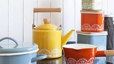 Camberwell Winter Open Studios - colorful teapots
