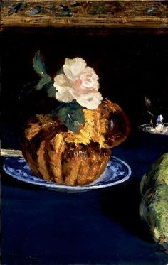 Edouard Manet Still Life with Brioche 1880