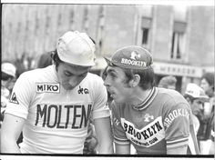 PHOTO DE PRESSE CYCLISME EDDY MERCKX PATRICK SERCU TOUR DE FRANCE 1974 | eBay