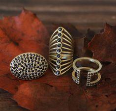 Currently loving black diamonds for Fall! #LFrankjewelry