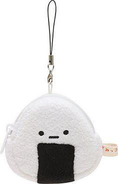 NEW Key Charm Mini Pouch Rice Ball San X Sumikko Gurashi Bag Chain Mascot 21501 | eBay