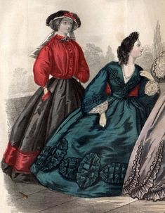 Civil War Fashion, Black Silk, Fashion History, Civilization, Most Beautiful, Fashion Beauty, Gowns, Dark, How To Wear