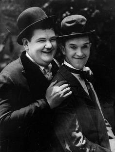 Oliver Hardy & Stan Laurel <3