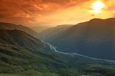 Cañon del Chicamocha, Santander (Región Andina) , Colombia. My beautiful homeland!