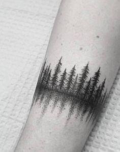Forest Tattoos, Nature Tattoos, Life Tattoos, Body Art Tattoos, Small Tattoos, Tatoos, Wrist Tree Tattoo, Nature Tattoo Sleeve, Arm Band Tattoo