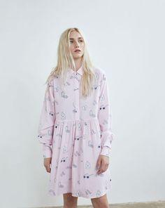 Lazy Oaf Mistakes Long Sleeve Dress
