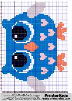Owl #53 - Animal - 176 pattern