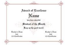 33 best certificate images on pinterest certificate design award