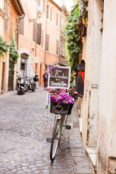 Street in Rome, Italy